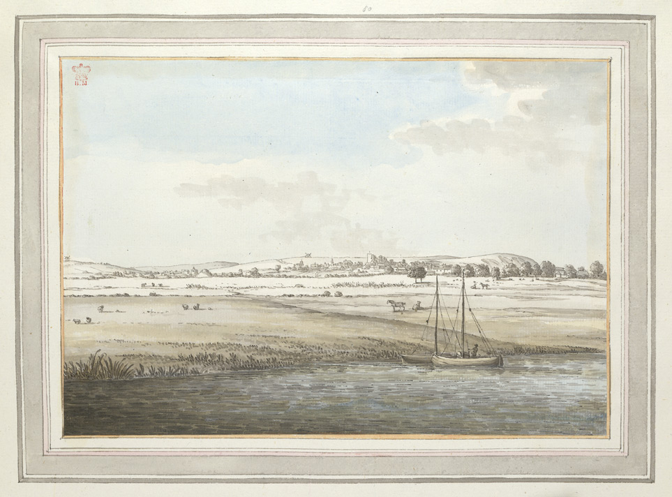 A Distant View Of Lewes